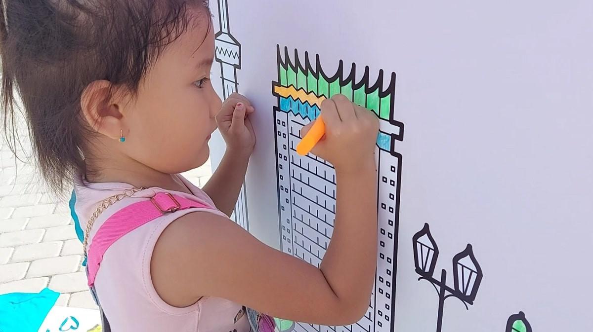 Алматы глазами детей: жасотановцы организовали необычное мероприятие