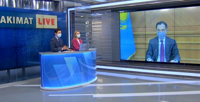 Akimat live: Алматы әкімі Б. Сағынтаев тұрғындар сұрағына жауап берді