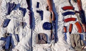 Автоматы, пистолеты, гранаты: житель Риддера незаконно хранил боеприпасы