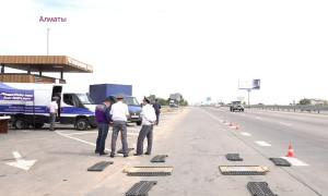 С начала года автолюбители нарушили ПДД на 72 млн тенге при въезде в Алматы
