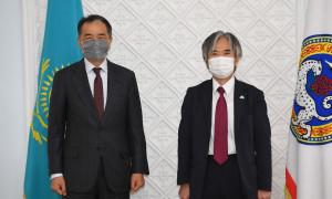 Б. Сагинтаев встретился с Послом Японии в Казахстане
