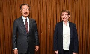 Б. Сагинтаев встретился с представителями ЕБРР по вопросам расширения сотрудничества