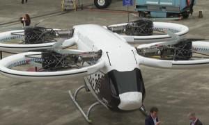 """Как в """"Пятом элементе"""": летающее такси разработали во Франции"""