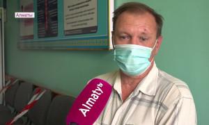 В Алматы первым компонентом привились почти 950 тысяч человек