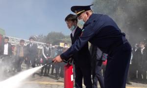 Готовы к любой ситуации: сотрудники по ЧС провели масштабные учения в школе Алматы