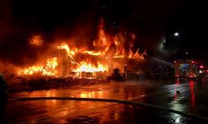 Мощный пожар унес жизни 46 человек на Тайване