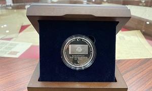 В Турции выпустили монету к 30-летию Независимости Казахстана