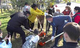 Әуезов ауданында айрықша акция аясында сенбілік өтті