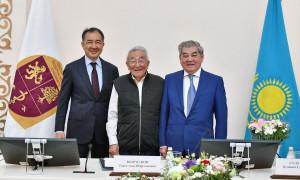 В Алматы состоялась торжественная церемония вручения Международной премии Шарманова