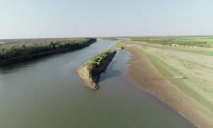 Каспийское море обмелело почти на 1,5 метра