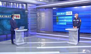 Заместитель руководителя РОСО МЧС РК ответил на вопросы алматинцев