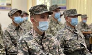Очередная отправка призывников состоялась в Алматинском сборном пункте