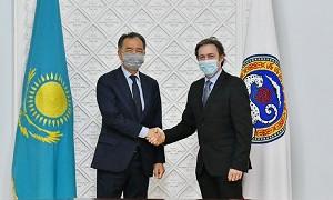 Бакытжан Сагинтаев встретился с Чрезвычайным и Полномочным Послом Италии