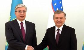 Токаев поздравил Мирзиёева с переизбранием на пост президента Узбекистана