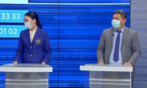 Айжан Бекеева и Кайрат Туримбетов ответили на вопросы алматинцев